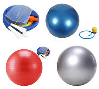 EXERCISE GYM YOGA SWISS BALL FITNESS AB ABDOMINAL SPORT WEIGHT LOSS 65CM-85CM