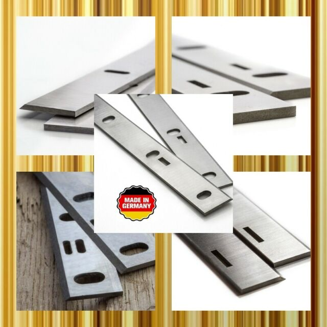 2 Stück Hobelmesser 320 x 18 x 3 HSS /%18 Wolfram Scheppach HMC 3200