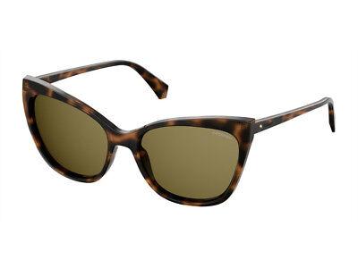 Occhiali da Sole POLAROID polarizzati PLD 4060S oro havana donna cat 086SP | eBay