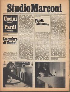 Studio Marconi 31 Marzo 1976 n.5 Uncini Pardi Boetti Paolini Richter Colombo