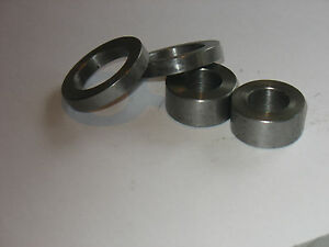"Washers Steel Thick 1 /2 "" OD X 1/4"" ID X 1/4"" Long 8 pcs CRS"