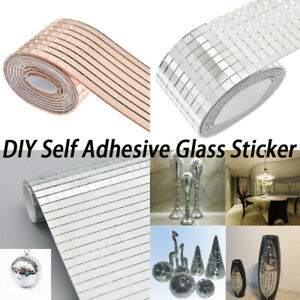 4Style-1Roll-Mirror-Mosaic-Tiles-Self-Adhesive-Mini-Square-Glass-DIY-Craft-Decor