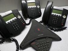Polycom Avaya Soundstation Premier 550d Speakerphone W 3 Soundpoint Ip450 Phones
