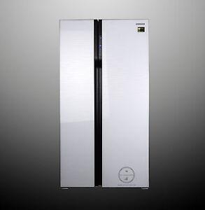 Samsung Rs552nrua1j Side By Side 538 Ll A Design Glasfront