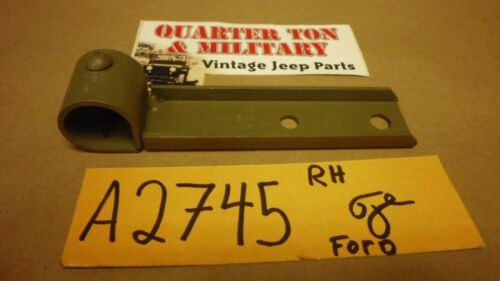 Jeep GPW Ford GP-2745 Top bow stowage bracket RH perfect reproduction G503