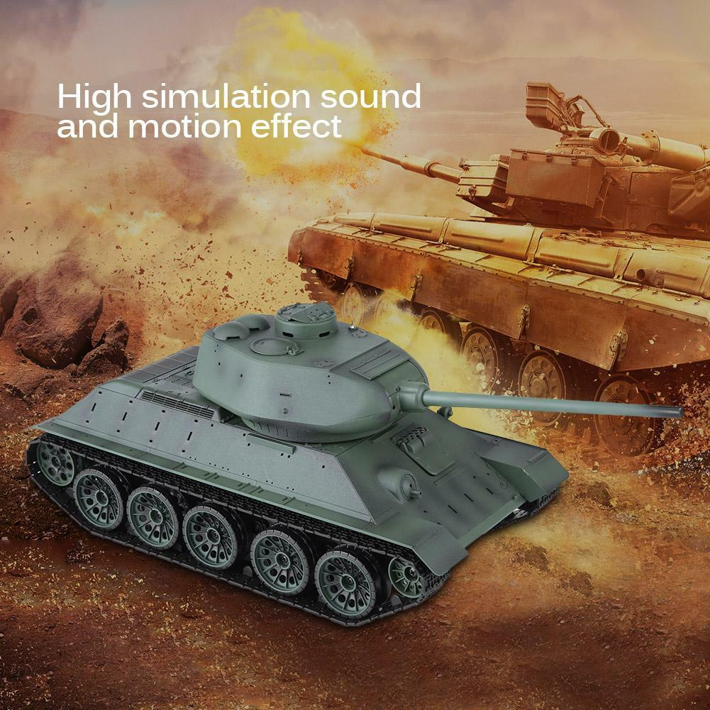 3909-1  1 16 lunga Heng RC TANK T-34 simulazione militare battaglia RACING BINARI RTR  marchi di moda
