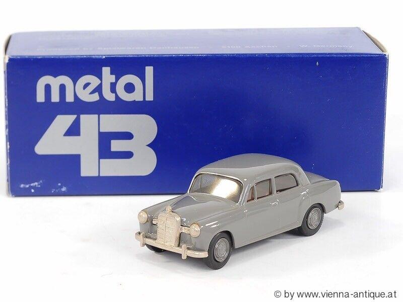 TLK 23133 1 43 METAL43 DANHAUSEN BY TIN WIZARD MERCEDES 180 LIMOUSINE 1959