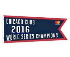 Chicago Cubs 2016 World Series Champion MINT NIB pennant Flag BANNER SGA 4/12/17