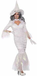 Women-039-s-Sexy-Spellweaver-Halloween-Costume-Fancy-Dress-White-Good-Witch-XS-LG