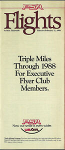 PSA-Pacific-Southwest-Airlines-system-timetable-2-17-88-9111-Buy-4-save-25