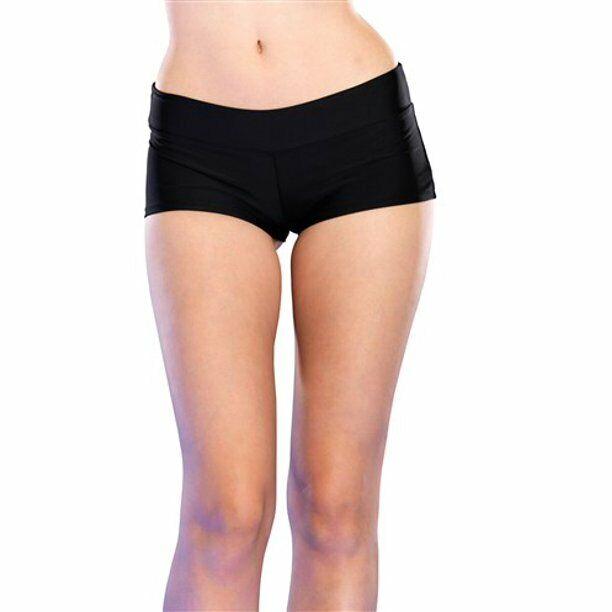 3002 Schwarz Stiefel Jungen Shorts Yoga Fitness Hipster Walze Bikini Tänzer Rabe