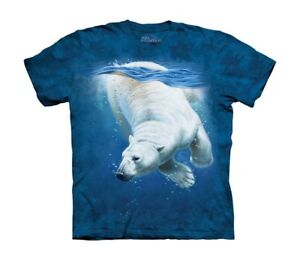 Polar Bear Plongée T Shirt Enfant Unisexe The Mountain-afficher Le Titre D'origine Forme éLéGante