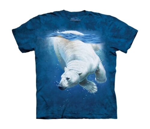 Polar Bear Dive T Shirt Child Unisex The Mountain