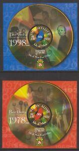 Isle-of-Man-1999-Beegees-sheets-x-2-MNH-SG-MS867