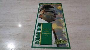 1997 Classic Time Limited Edition - Green Bay Packers Vince Lombardi -Commitment