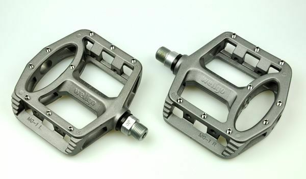 New WELLGO MG-1 MG1 Magnesium Bike Fixed  Gear Pedal MTB & BMX PEDALS - G   clearance up to 70%