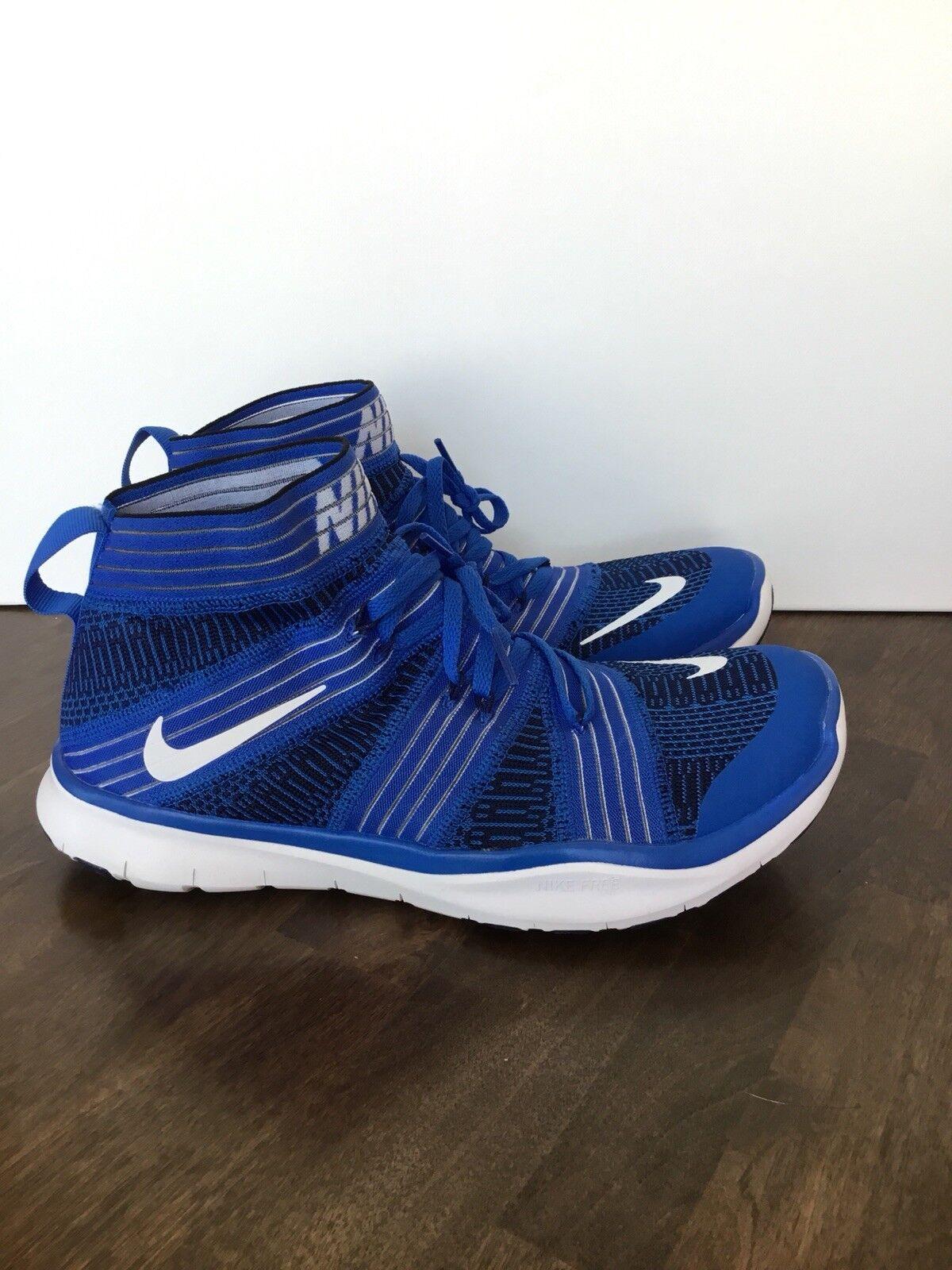 Nike libera treno virtù Uomo dimensioni scarpe bianco & blu