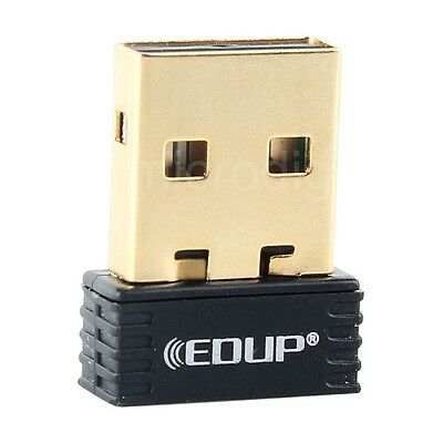 nw New Mini USB Wireless WiFi Smart  TV Network Nano Adapter Dongle Card