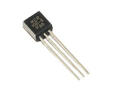 mcr100-6 0.8a 400v scr transistors to-92 new