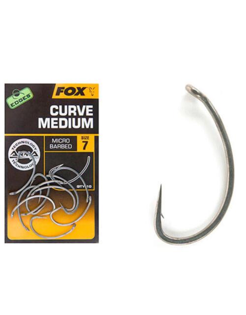 Fox Edges Curve Shank X Size 4