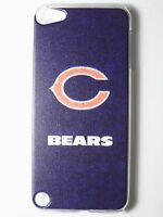 Nfl Chicago Bears Logo Ipod Touch Itouch 5/6th Plastic One-piece Slim Case