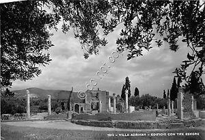 Cartolina-Postcard-Villa-Adriana-Edificio-con-tre-esedre-anni-039-50