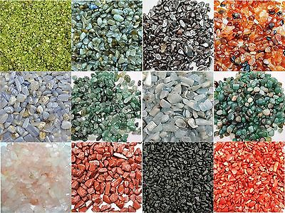 50gm BEAUTIFUL MINI TUMBLED GEMS CRYSTALS Rare Natural Genuine You Choose Stones