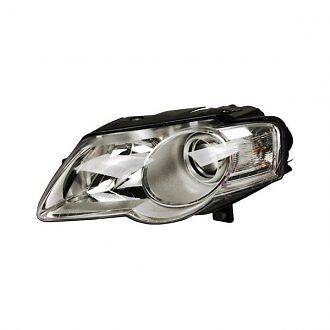 VW VOLKSWAGEN PASSAT 2005 2010 FRONT HEADLIGHT HEADLAMP  LH LEFT N//S NEAR SIDE