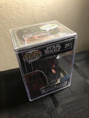 Funko Pop Star Wars 297 x Futura Boba Fett Wondercon Exclu HARD STACK