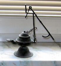 Antique old oil lamp  Tribal ceremonial Ritual Kult  lampe à huile très ancienne