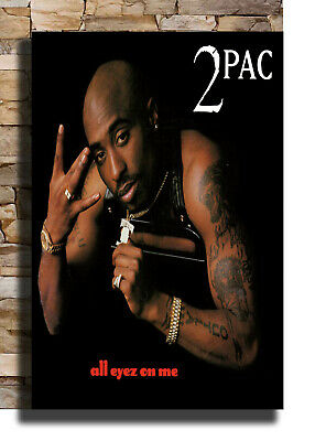 27x40 24x36 Poster 2Pac Greatest Hits 2PAC All Eyes On Me Custom Silk G-435