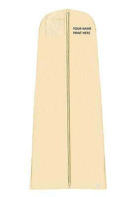 Hoesh UK Waterproof Ivory Personalised Wedding Garment Bridal Gown Cover Bag