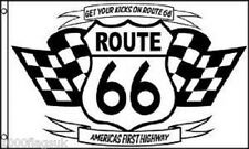 "Route 66 ""Get Your Kicks On 66"" 5'x3' Flag"