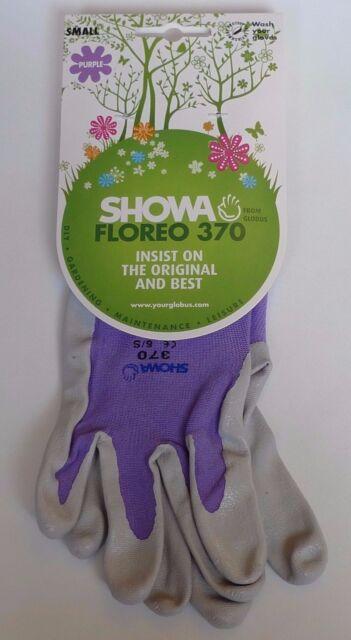 MEDIUM Showa 370 FLOREO Unisex Lightweight Gardening Gloves Nitrile Palm Garden Clothing & Gear