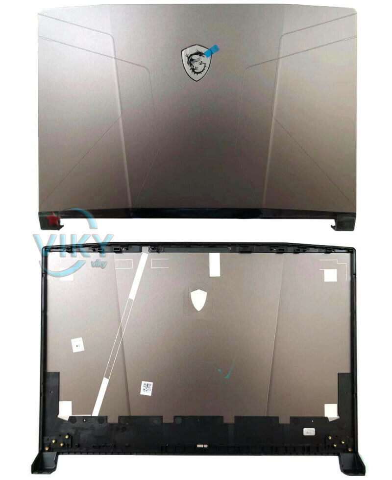 New Laptop LCD Rear Top Lid Back Cover Silver For MSI GL66 MS-1581