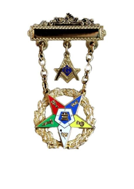 Order of Eastern Star pillow Masonic OES 16x16 new pillow included