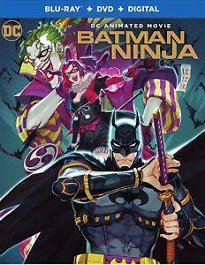 BATMAN-NINJA-Blu-ray-DVD-Digital-HD-NEW-FREE-SHIP-Batman-BatmanNinja-DCU