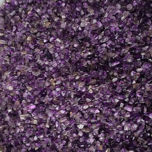 50g Natural Mini Amethyst Purple Point Quartz Crystal Stone Rock Chips Healing 8