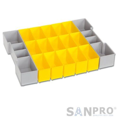 L-BOXX Sortimo lb 102 Boîte de Cloisonnement B3 2x 312x70mm 15x 6x Murs