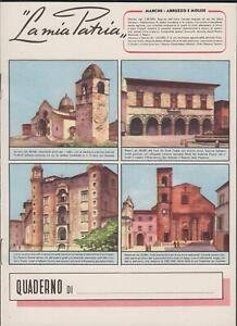 Quaderno-scolastico-La-mia-Patria-Marche-Abruzzo-Molise-1950-c-a-nuovo