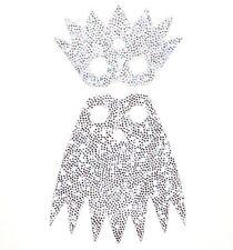 LEGO White Cape w/ Collar Cloth Silver Sparkles Ice Queen Minifigure 71013