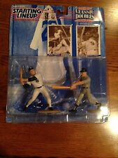 1997 Starting Lineup Roger Maris Mickey Mantle With Card NY Yankees HOF Legends