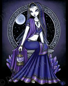 Purple Moon Fairy