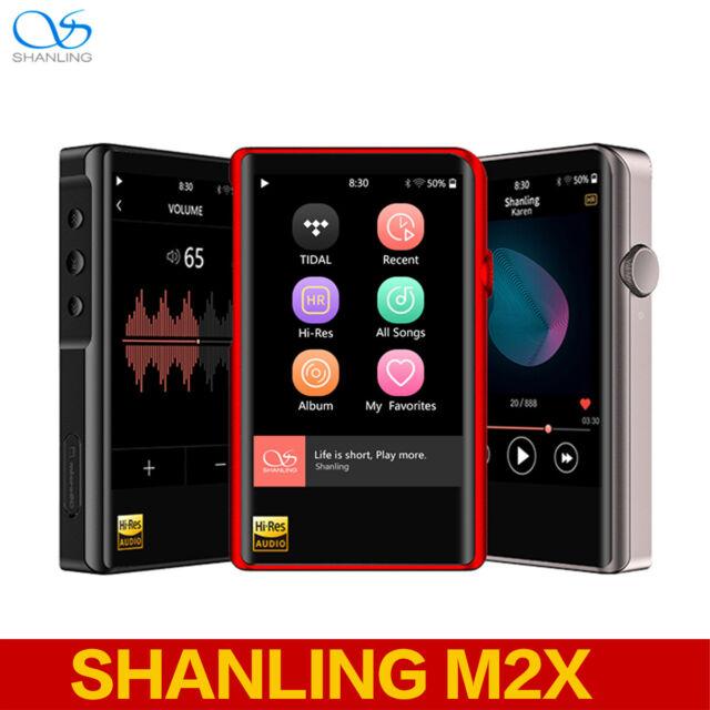 SHANLING M2X PORTABLE MP3 MUSIC PLAYER Hi-Res Lossless FLAC WAV Bluetooth  WiFi