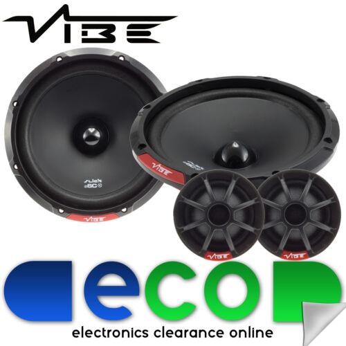 """Vibe Slick 6 17cm 6.5/"""" pulgadas 270 Watts Componente Altavoces De Puerta De Coche par"""