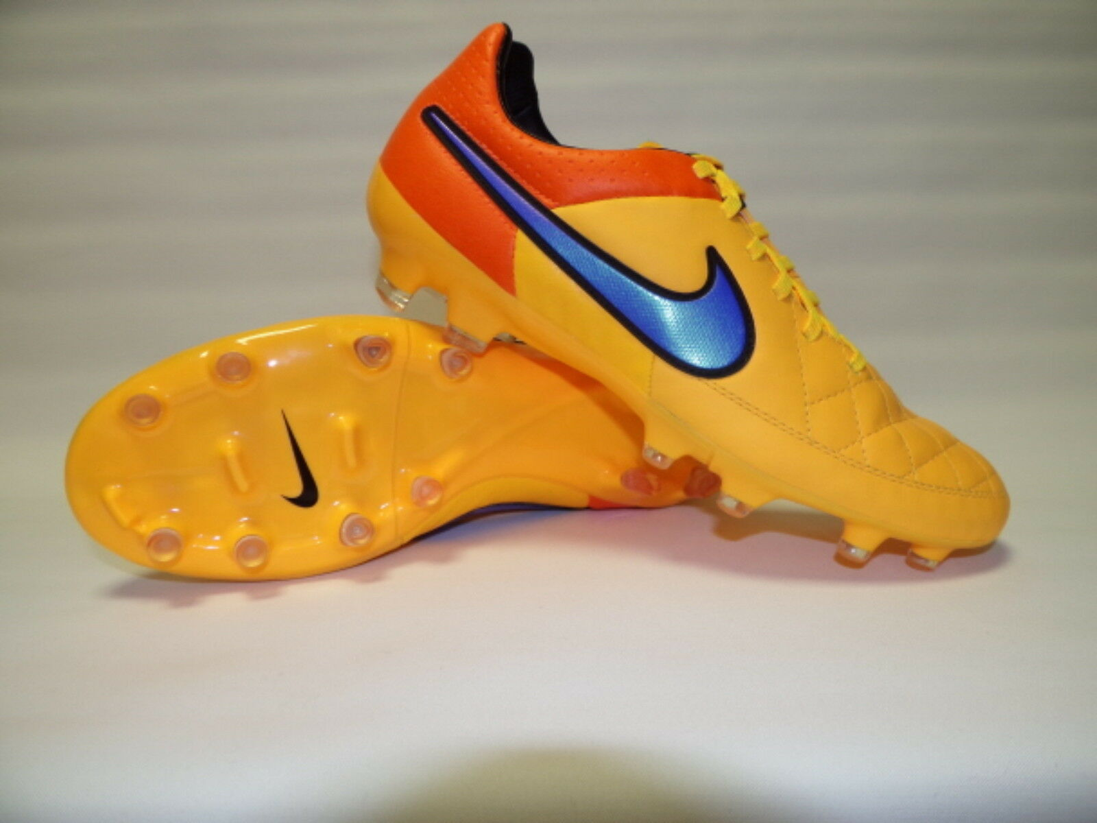NIKE TIEMPO LEGACY FG orange blue  631521