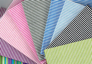 Fat-Quarter-Stripe-design-100-Cotton-Fabric-Quilting-Patchwork-Crafts