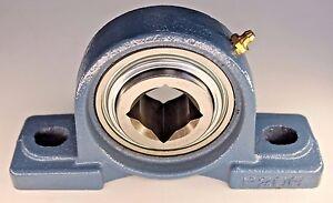 Premium-1-1-8-034-Square-Bore-Disc-Bearing-Unit-GW208PPB5-P208-Tufline-TPBT60