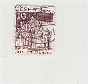 010 Deutsche Bundespost Dresden Sachsen Briefmarke Ebay