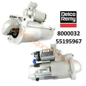 DELCO-Anlasser-fuer-FIAT-Ducato-250-2-3D-120-130-Multijet-8000320-55195967-DRX2-3